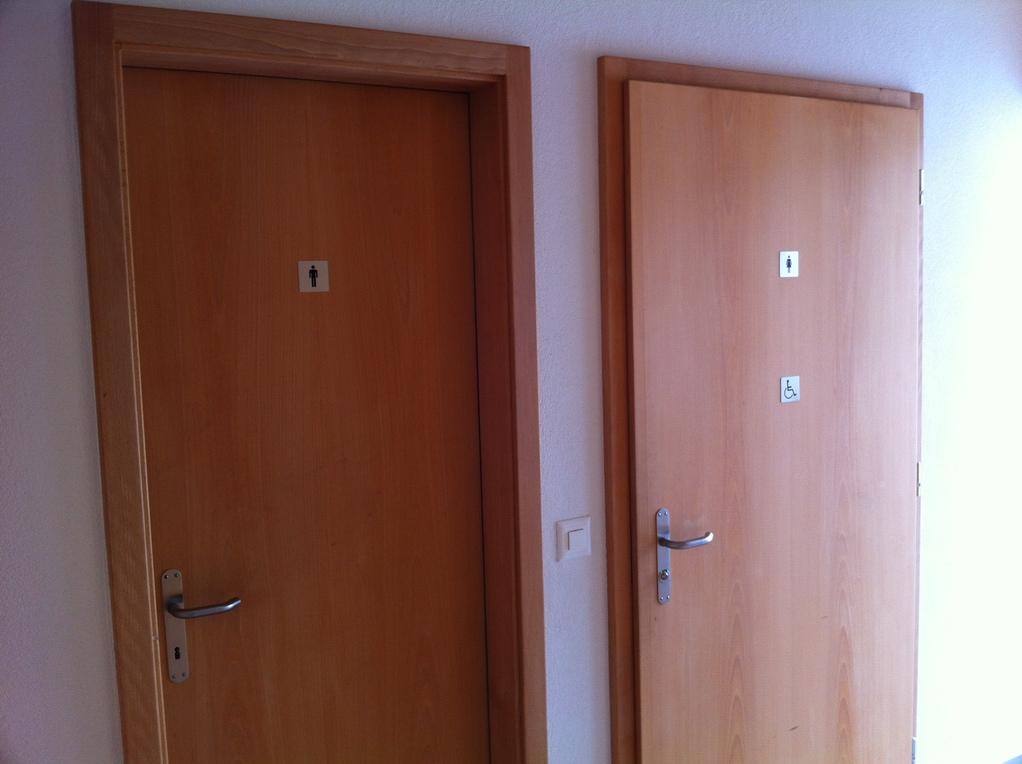 WC im Entréebereich