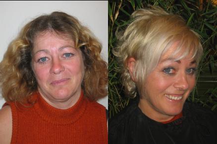 maquillage, coiffage et style vestimentaire