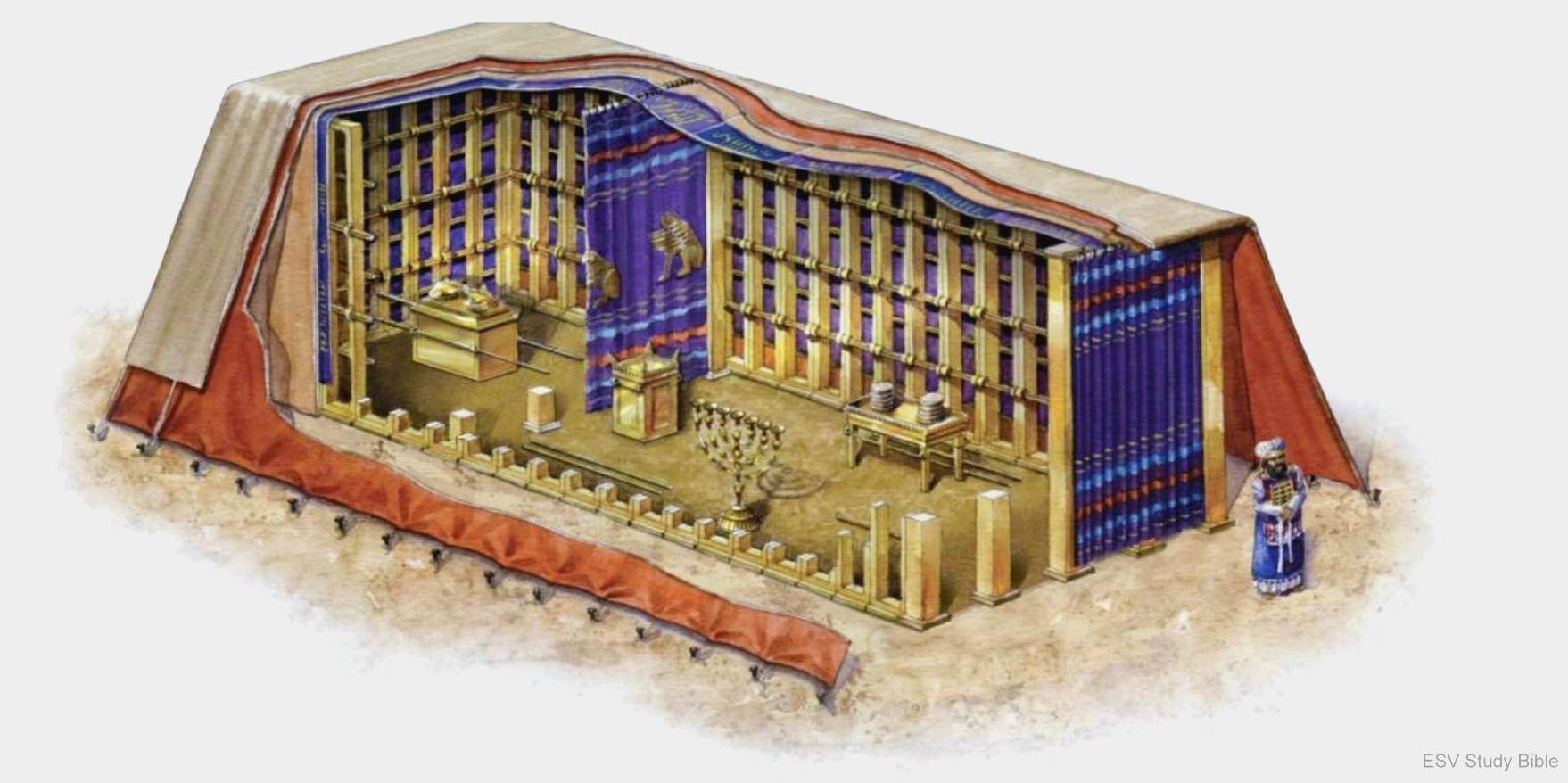 The Construction Of The Menorah Divisions Structure Bible Menorah