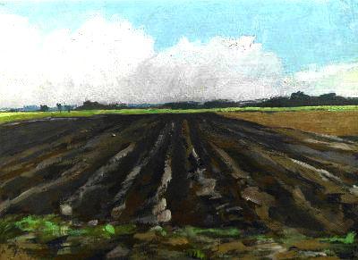 12. Nov. 2011, Ölbild, Landschaft