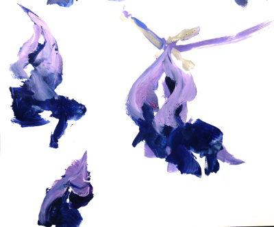 verblüte Tulpen
