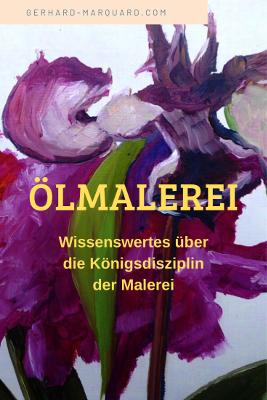 Ölmalerei, Blumenbild, Pfingstrose