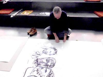 Zuschneiden der Folien Zeichnungen