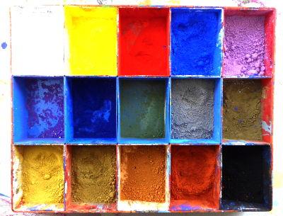 Farb - Pigmente