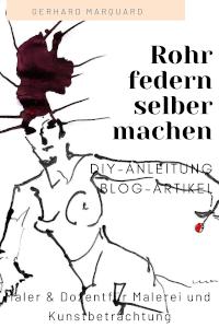 Frau, mit roten haaren, zeichnung