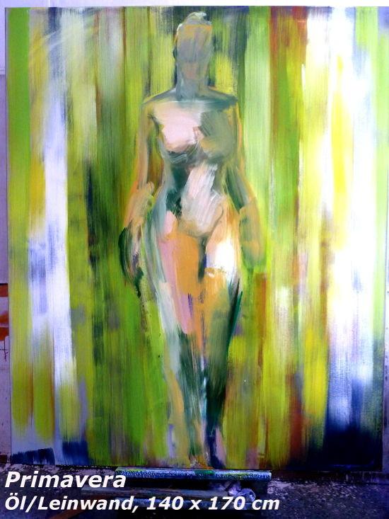 Primavera, 140 x 170 cm, Öl/Leinwand