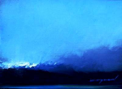 5. Mai 2012 Ölbild, Landschaft