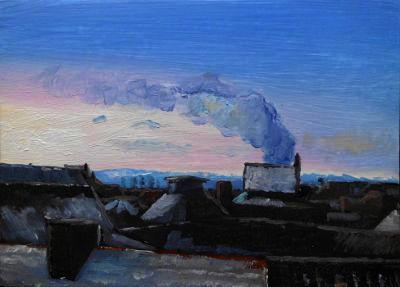 13. Jan. 2012, Ölbild, Stadtbild