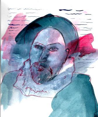 Montaigne, Scriftsteller, Portrait
