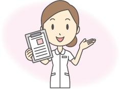 訪問看護サービスを受けるにはのイメージ画像 看護師が笑顔で案内