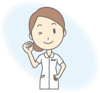 医療機器をご使用になられている方のイメージ画像 ガッツポーズのイメージ画像