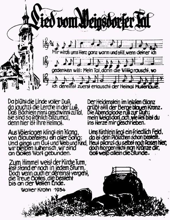 Lied vom Weigsdorfer Tal