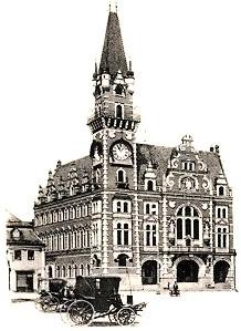 Rathaus in Friedland