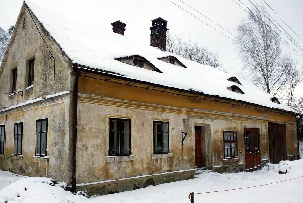 1893 erbautes Haus des Hufschmiedes Anton Schwind
