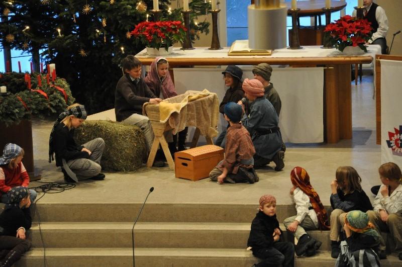 Familiengottesdienst am Heiligen Abend