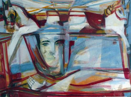 Karussell 17-selbstfliegend- 60 x 80 2008