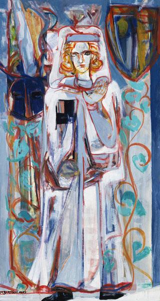 Tannhäuser 140 x 90 cm Öl Leinwand 2003