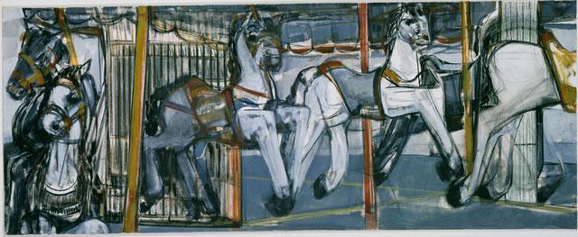 Karussell 11 80 x 200 Öl auf Lw 2006