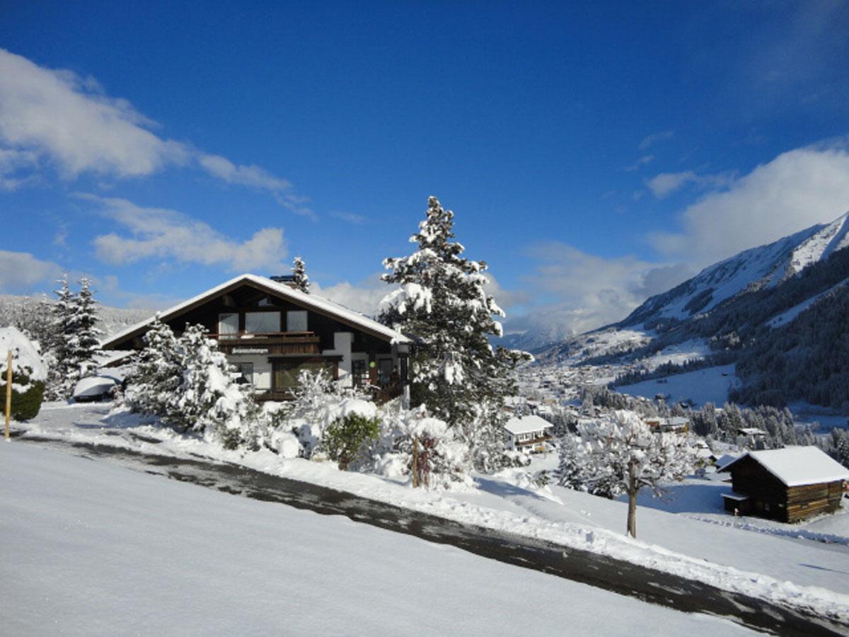 Winterliche Ferienwohnungen Gessner