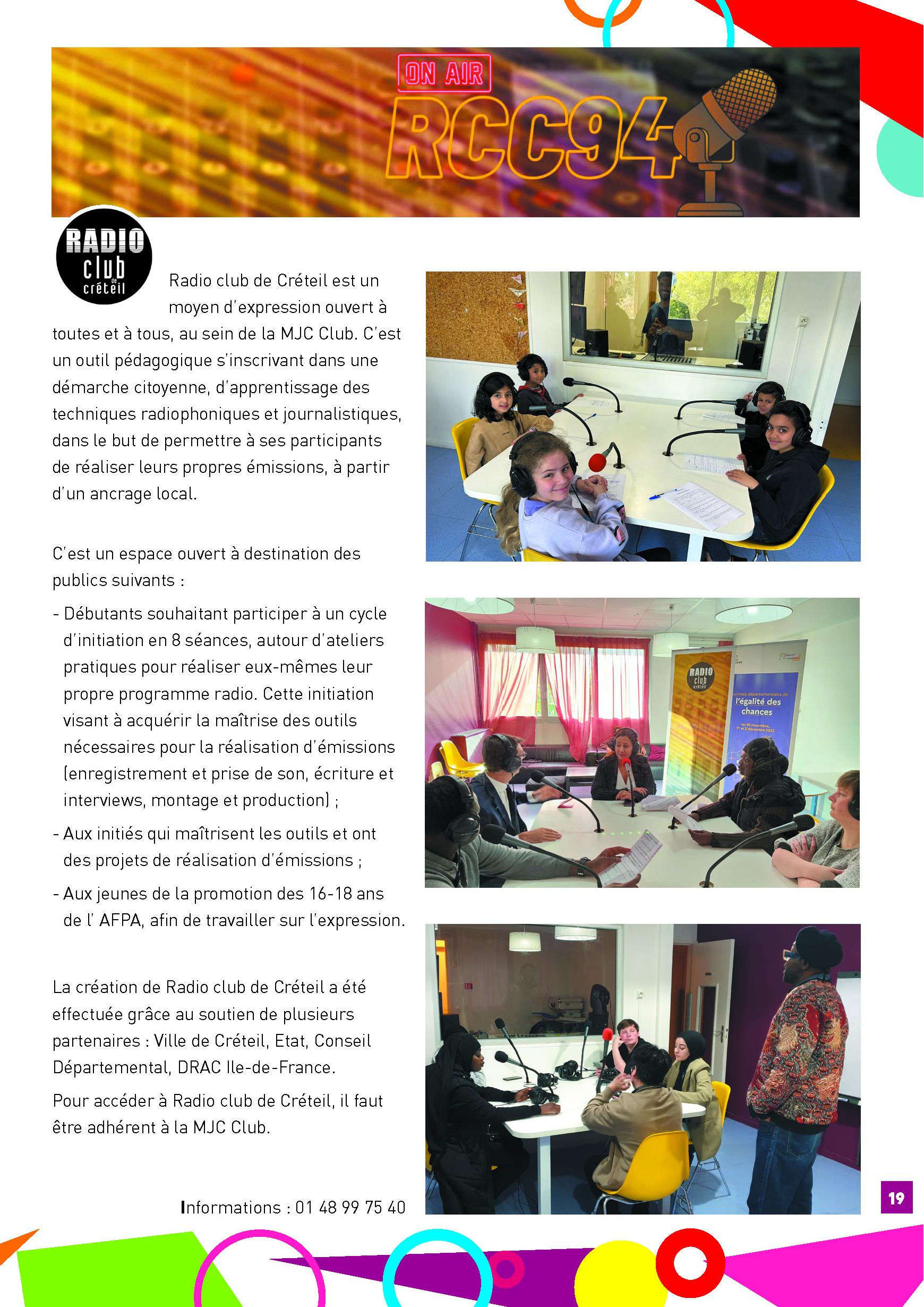 Webradio club de cr teil - Politique de confidentialite ...