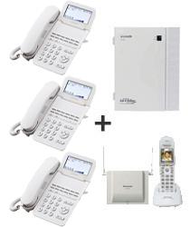 ビジネスホンコードレス受話器セット