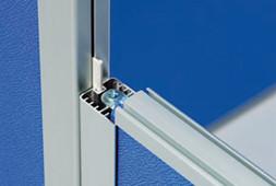 直接連結時の段差連結は、短い方の樹脂連結棒を差し込みます。