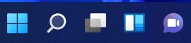Windows11 タスクバーアイコン画像