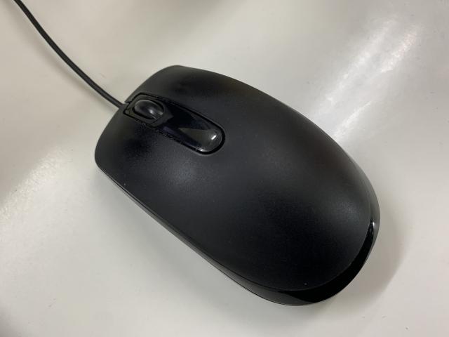 通常の3ボタンマウス