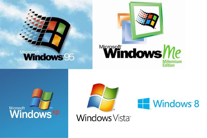 今までのWindows OS