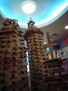 ドーンセンターのカプラで子どもたちが作りました! '13.12月