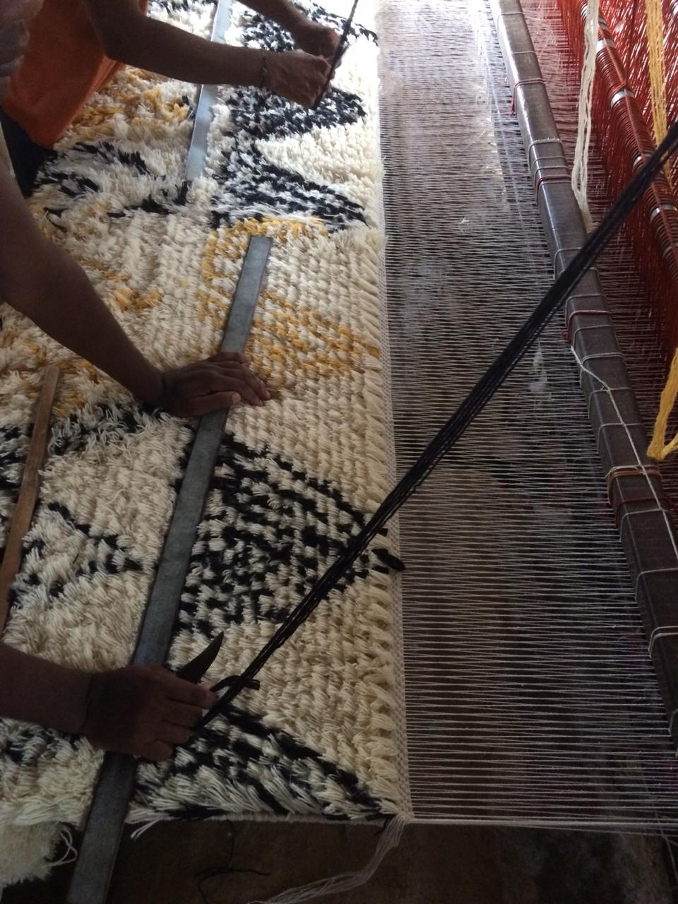 Teppiche, kunstvoll per Hand gewoben