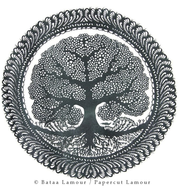 World Tree Parpecut / copyright Papercut LamouR