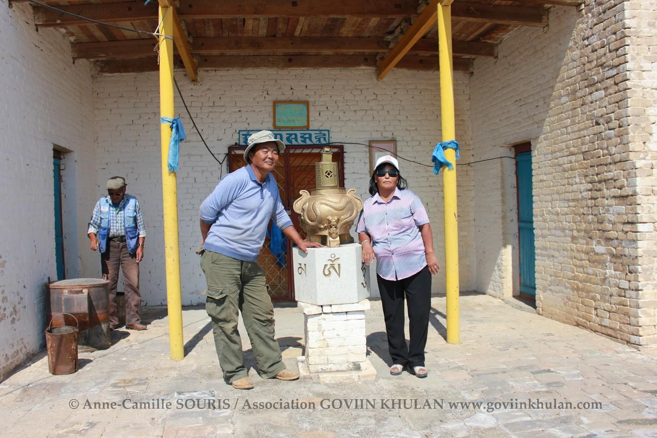 Gansukh & Otgon, deux conservationnistes citoyens de GOVIIN KHULAN - Ulgii Hiid - 09.2012