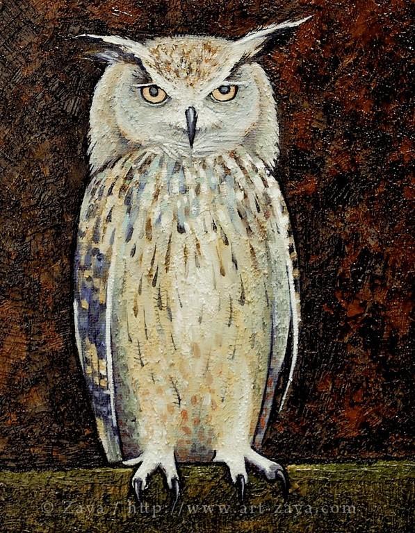 Owl 2012(*) / copyright ZAYA www.art-zaya.com