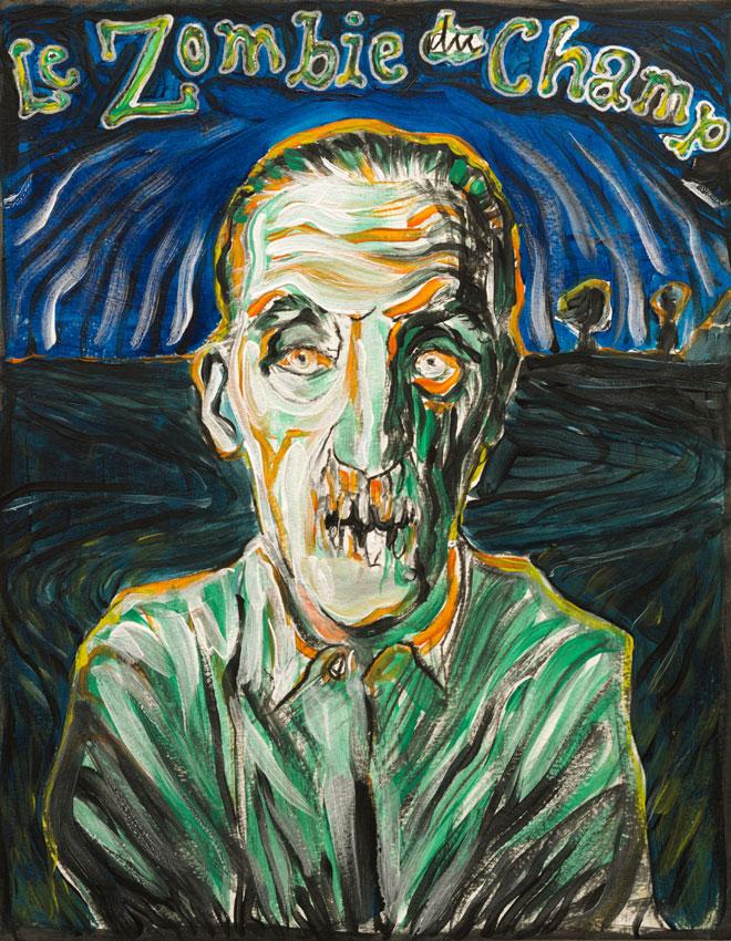 le Zombie du Champ, Roland Maas, 2016