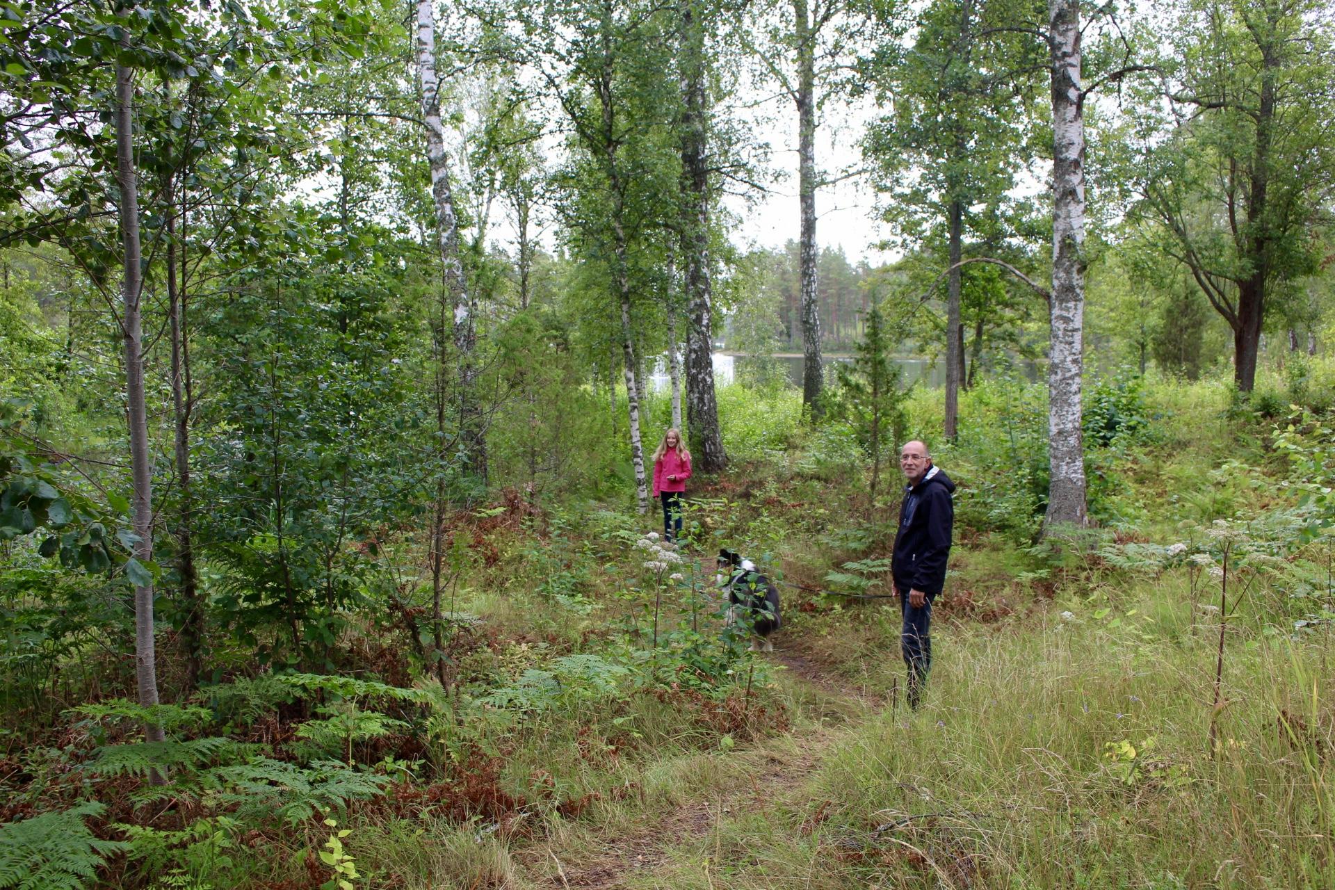Auf Schatzsuche. Geocaching am Campingplatz in Mariannelund