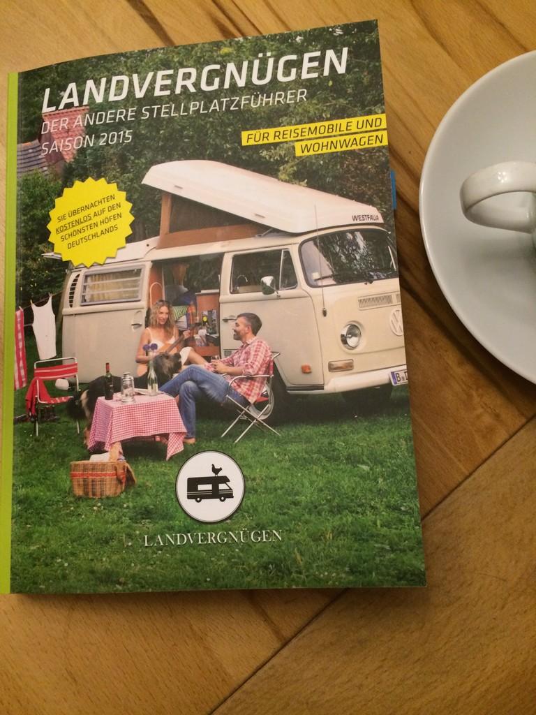 campen mit der vignette unsere eintrittskarte ins. Black Bedroom Furniture Sets. Home Design Ideas