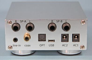 4チャンネルアンプ