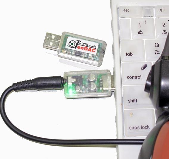 USBオーディオ《デンダック》DenDAC
