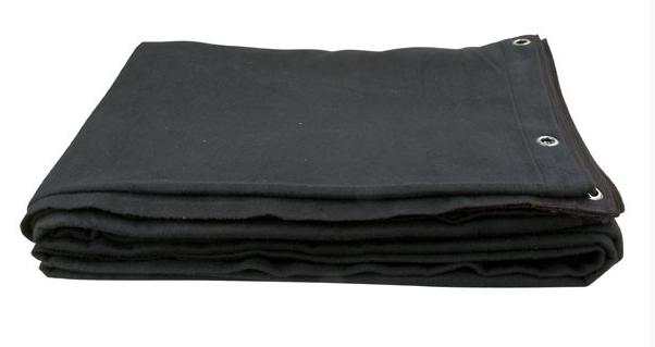 Pendrillon et jupe molleton noir