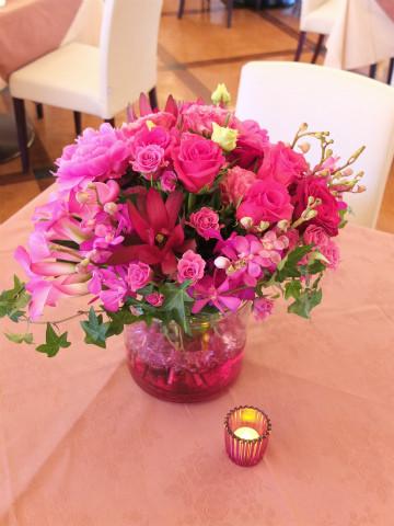 パーティ装花 テーブル