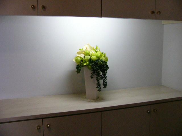 モデルハウス 装花