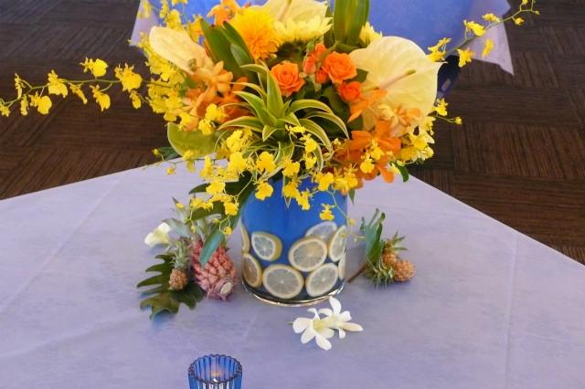 パーティ・レセプション装花 テーブルアレンジメント