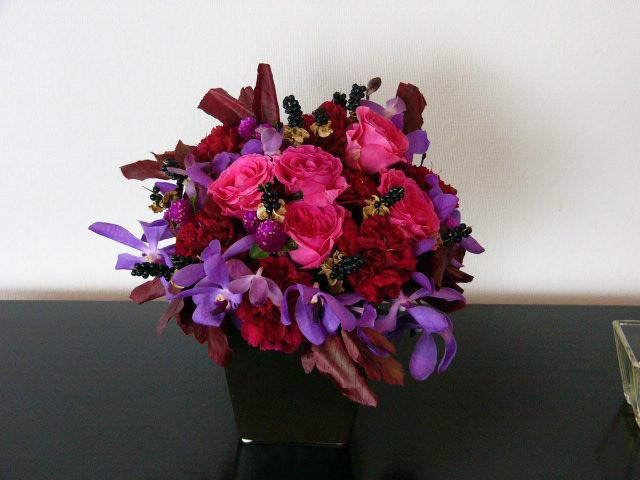受付 装花