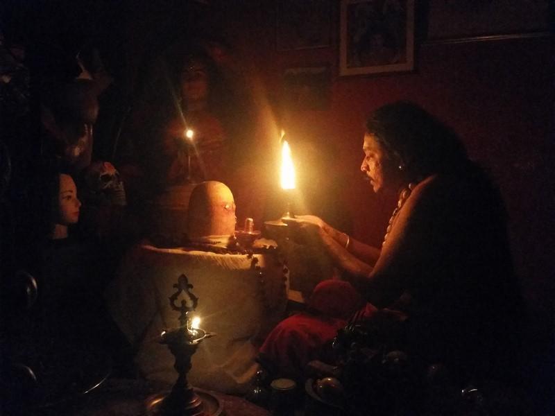 Maha Shivarathri Puja at Gurudev Aghori Baba´s Ashram Malaysia