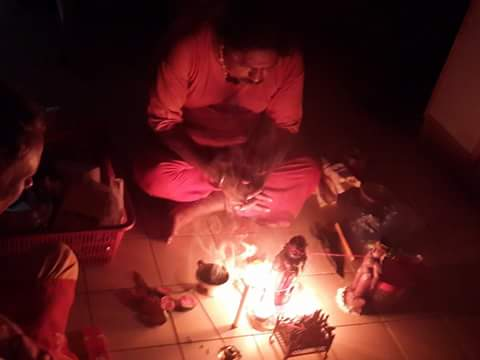 Puja for Feeding Guardian Spirits (Boothas)