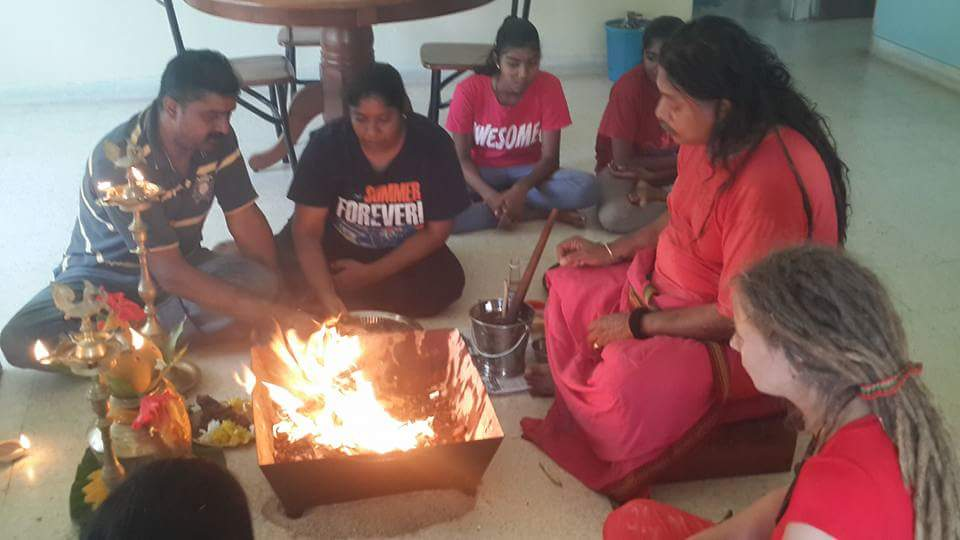 Prosperous Yagna Puja at families house