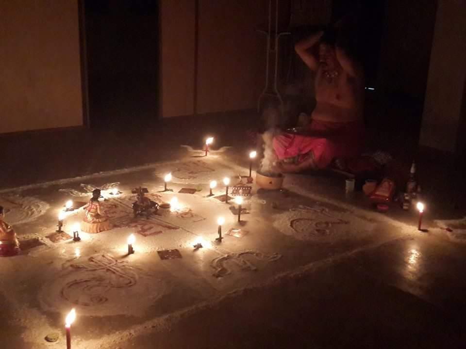 Pisasu Thosa Puja (Arresting of Evil Spirits)