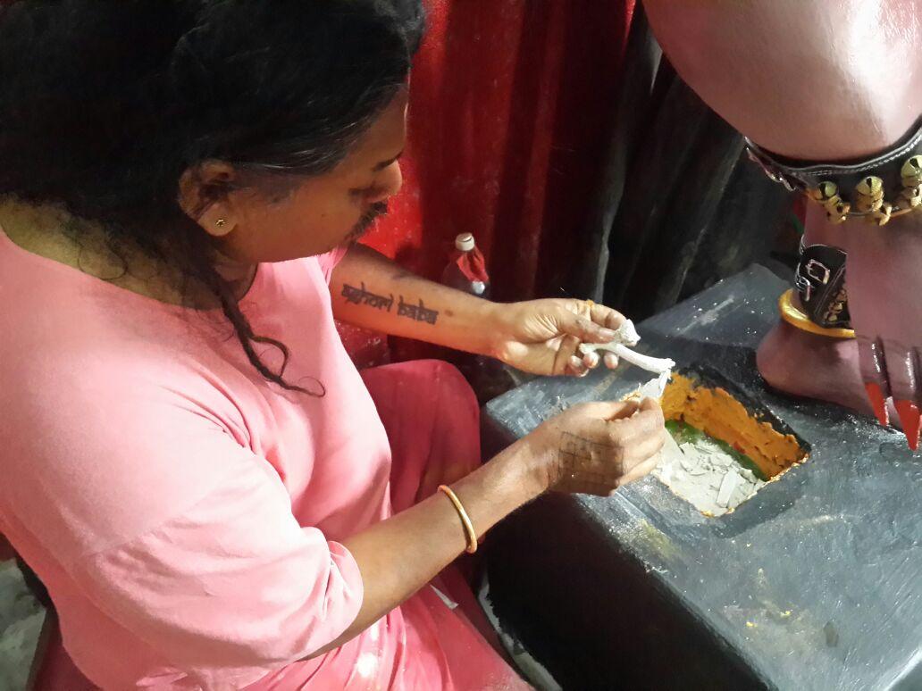 Prana Pratishtha Puja for Maa Aghora Kali done by Gurudev Aghori Baba
