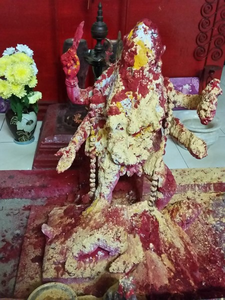 Worship of Raktha Kali Maa at Gurudev Aghori Baba's Ashram in Malaysia